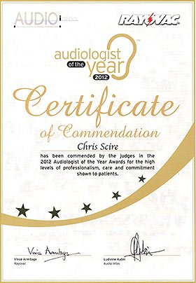 Chris Sciré - Audiologist of the Year