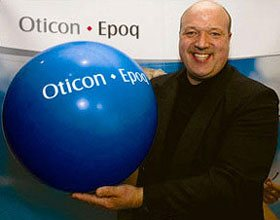 Chris Sciré at Oticon Product Launch